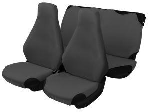 Майки на сидения 7 ClASSIC (тёмно-серый) (к-т 4 пр.)