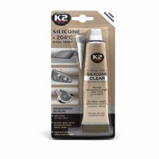Высокотемпературный герметик CLEAR SILICONE  +204С 85г