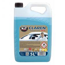 Жидкость стеклоомывающая К2 CLAREN-22C 5л
