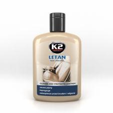 Очиститель-полироль для натуральной кожи K2 LETAN 200мл