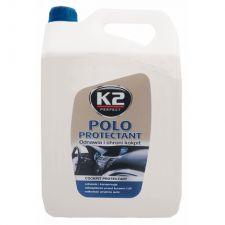Полироль пластика матовый К2 POLO PROTECTANT 5л
