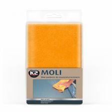 Салфетка из микрофибры влаговпитывающая K2 MOLI (оранжевая)