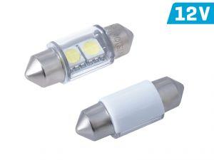 Светодиоды LED VISION 12V SB8,5 31 мм белые 2 шт (58361)
