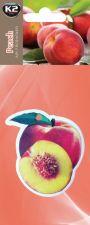 Ароматизатор салона K2 FRUTTI (бумажный в виде фруктов)