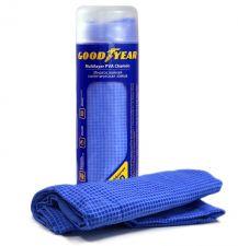 Салфетка для впитывания влаги синтетическая замша в тубе Goodyear 43*64 см
