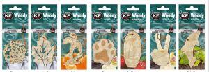 Ароматизатор салона K2 WOODY (деревянные фигурки)